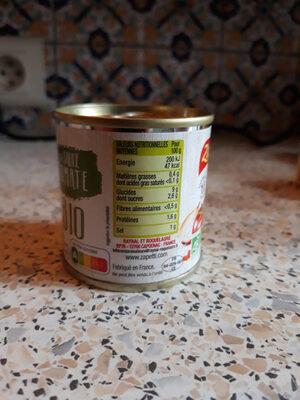 Ma sauce tomate bio - Ingredients - fr