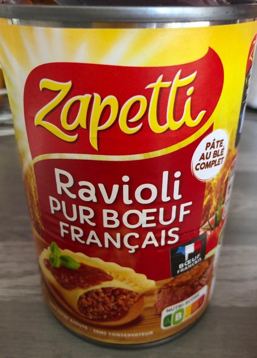 ravioli pur boeuf français - Produit - fr