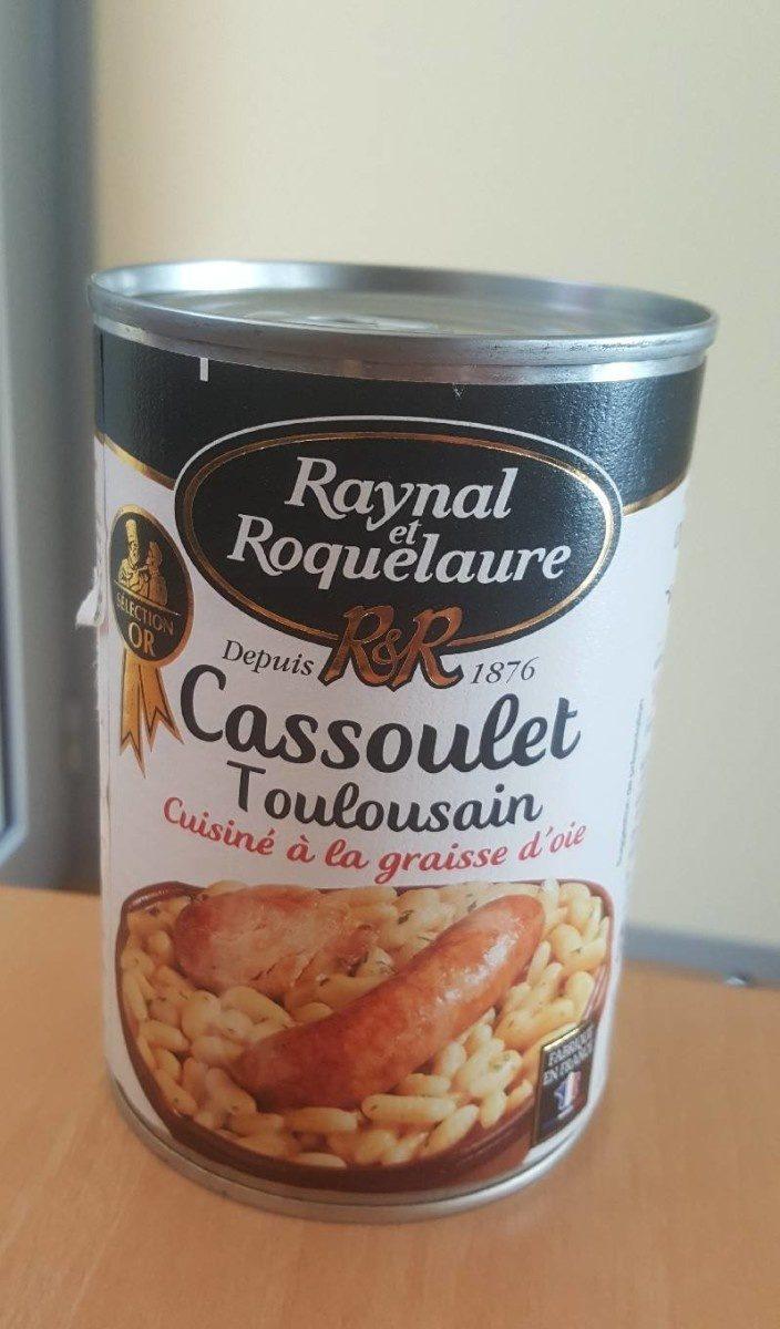 Cassoulet Toulousain Cuisiné à la Graisse d'Oie - Product - fr