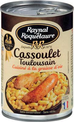 Cassoulet Toulousain, cuisiné à la graisse d'oie - Produit - fr