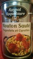 Mouton Sauté Flageolets Verts et Carottes - Produit - fr