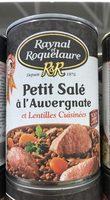 Petit salé à l'Auvergnate et lentilles cuisinées RAYNAL ET ROQUELAURE,420g - Product - fr