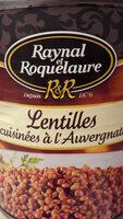 Lentilles cuisinées à l'Auvergnate - Produit - fr