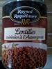 Lentilles cuisinées à l'auvergnate - Product