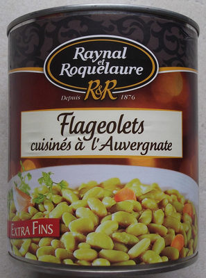 Flageolets Cuisinés à l'Auvergnate - Product - fr