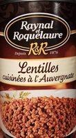 Lentilles cuisinées à l'Auvergnate - Product - fr