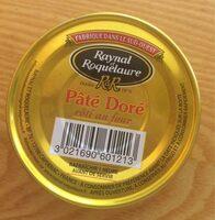 Paté doré - Product - fr