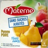 Compotes pomme poire Materne - Product