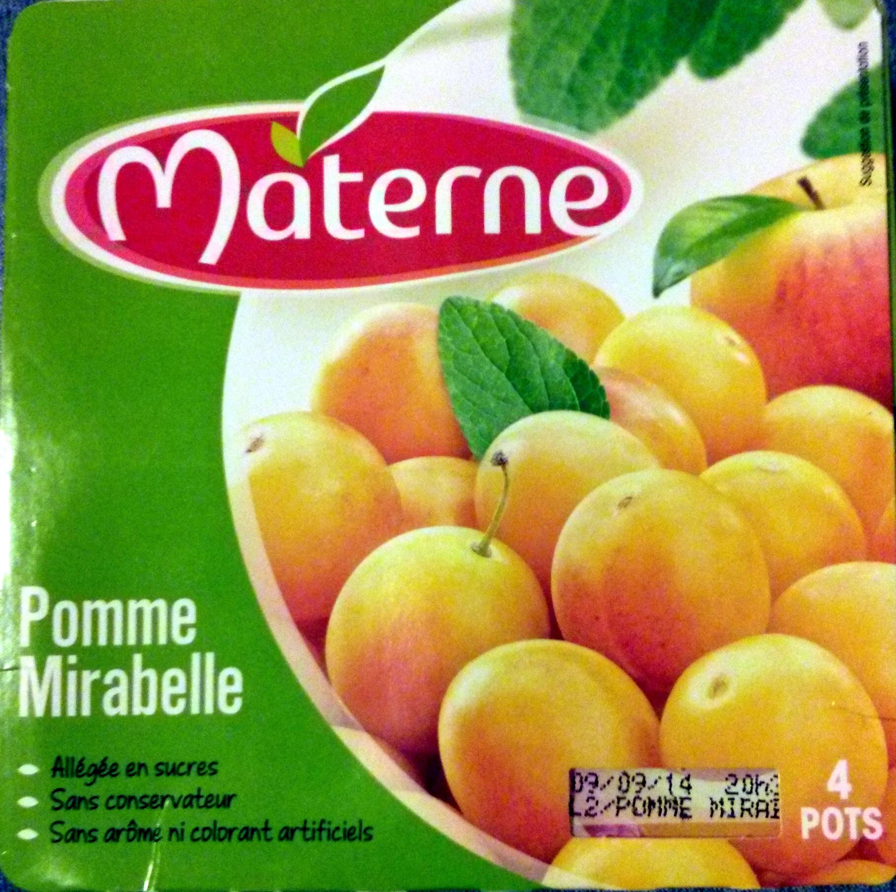 Compote Pomme mirabelle - Produit