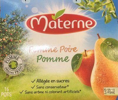 Compote de pomme-poire - Produit