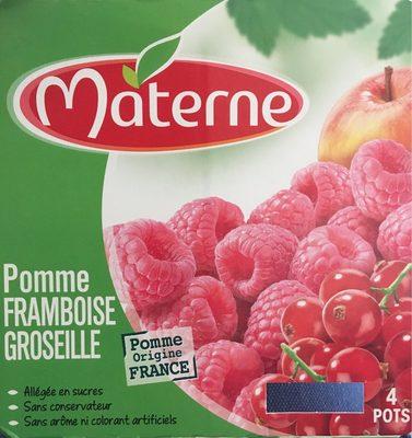 Pomme Framboise Groseille - Product