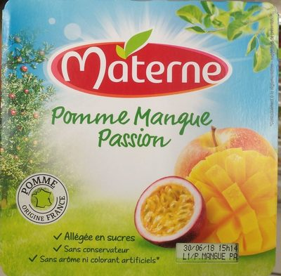Compotes pomme mangue passion - Product