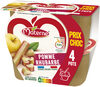 MATERNE Pomme Rhubarbe 4x100g Prix Choc - Product