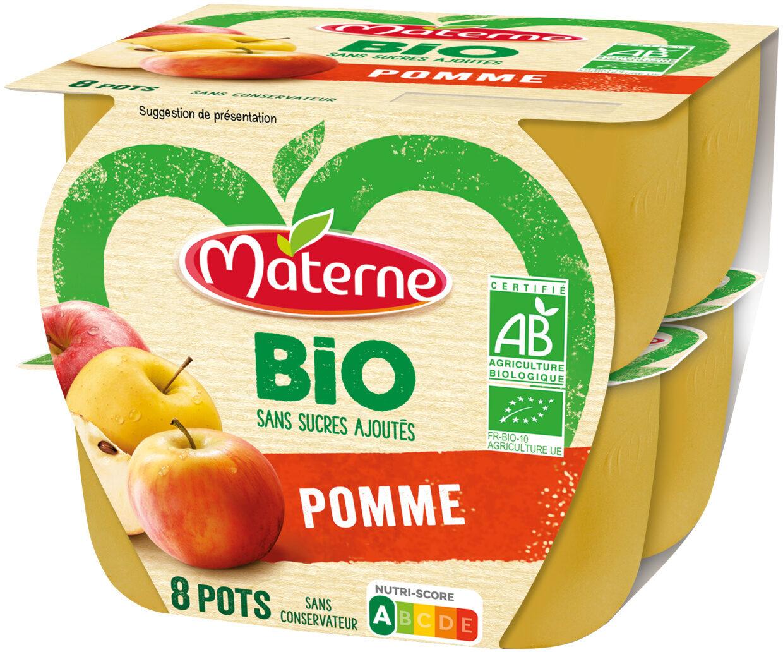 MATERNE BIO SSA Pomme 8x100g - Produit - fr