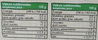 MATERNE BIO SSA Pomme Abricot/Pomme Poire 8x100g - Informations nutritionnelles - fr