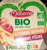 Compotes Bio sans sucres ajoutés - Product