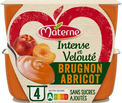 MATERNE Intense & Velouté SSA Brugnon Abricot - Produit - fr