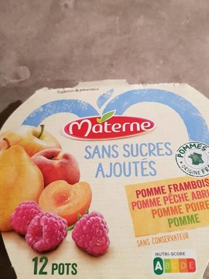 Compotes sans sucres ajoutés - Product - fr
