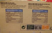 Pomme framboise sans sucres ajoutés - Ingrédients