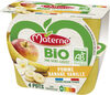 MATERNE BIO SSA Pomme Banane Vanille 4x100g - Producto