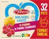 MATERNE SSA Pomme/Pomme Framboise 32x100g Format Familial - Produit