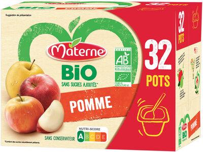 MATERNE BIO Pomme 32x100g - Produit - fr