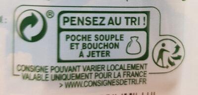 Pom'Potes Bio - Pomme Bio - Istruzioni per il riciclaggio e/o informazioni sull'imballaggio - fr