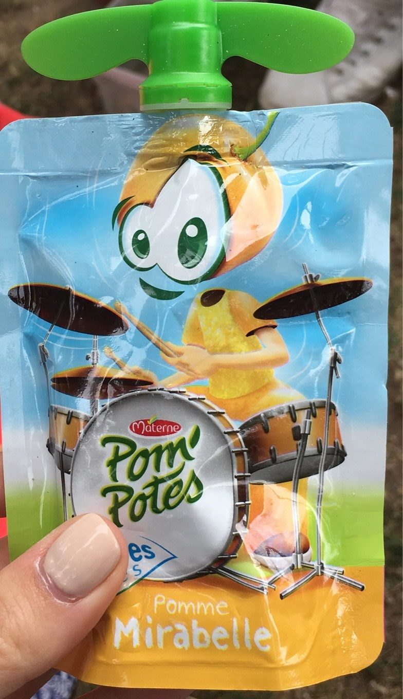 Pom'Potes Pomme Mirabelle - Product