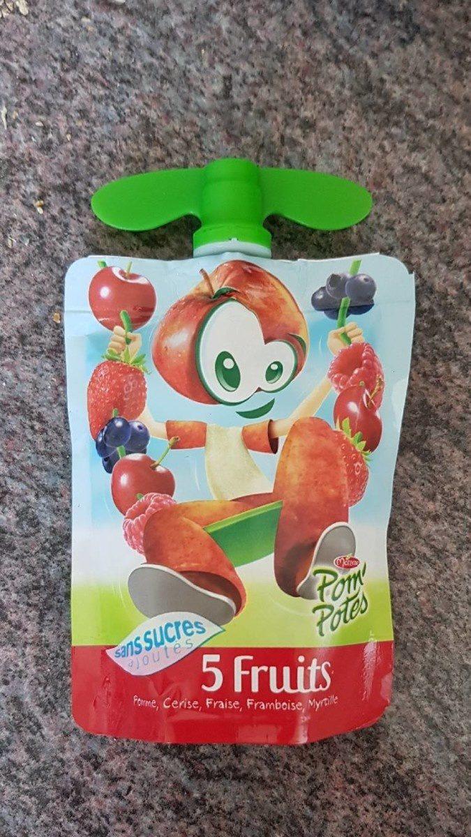 Pom' potes 5 fruits - Produit