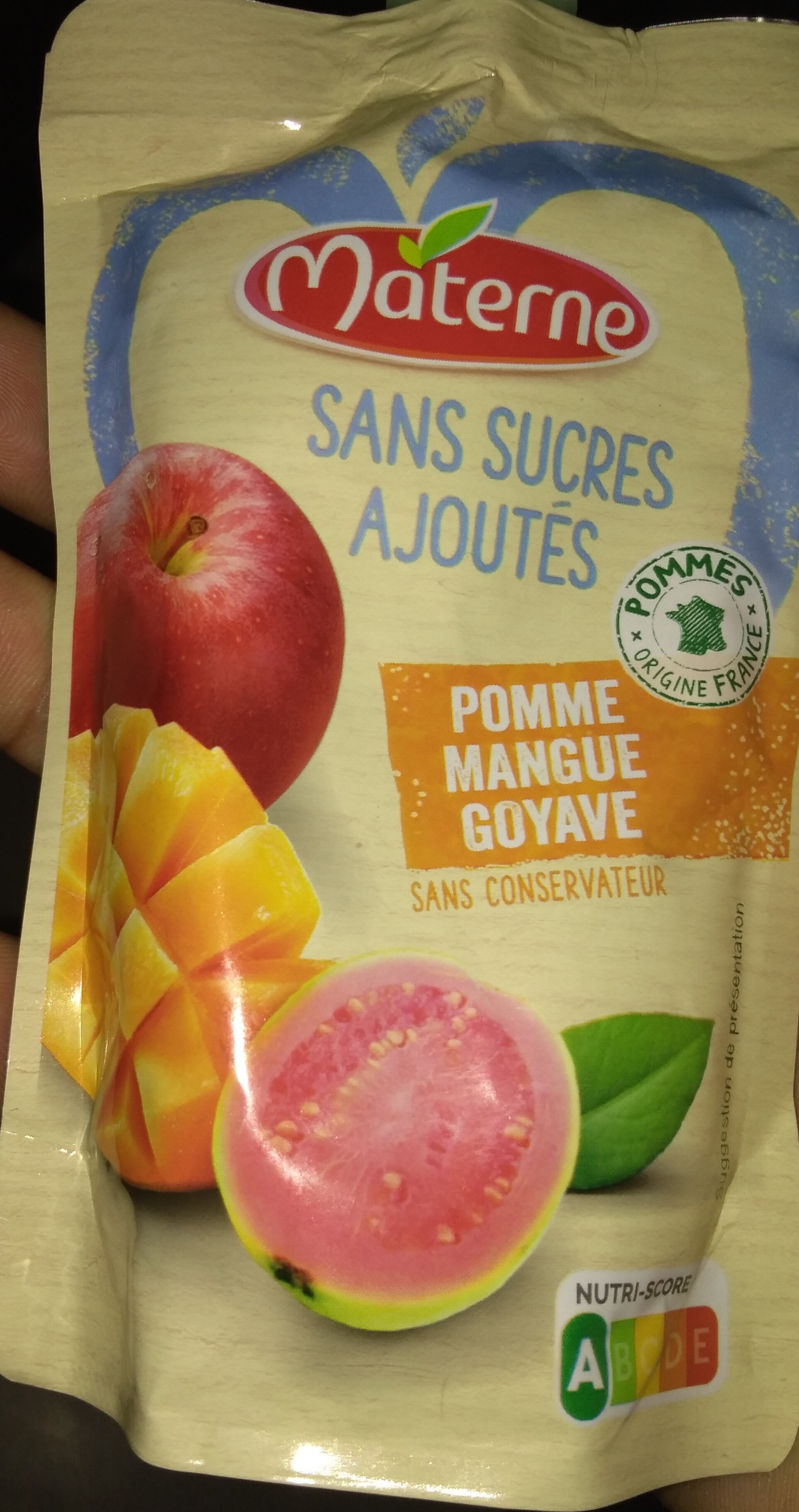 Ma pause fruit - Nutrition facts