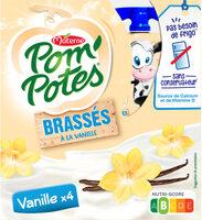 POM'POTES BRASSES Vanille - Produit - fr
