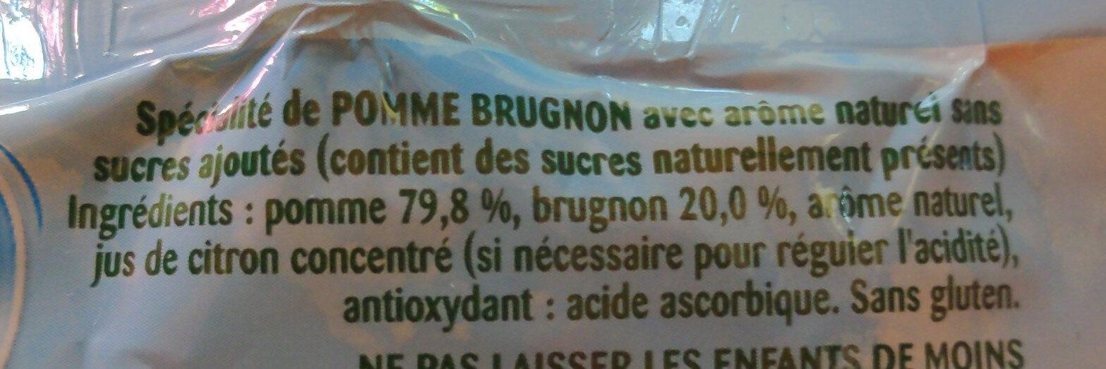 Pom'Potes Pomme Brugnon - Ingredienti - fr