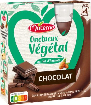 MATERNE Onctueux Végétal Chocolat 4x85g - Produit - fr