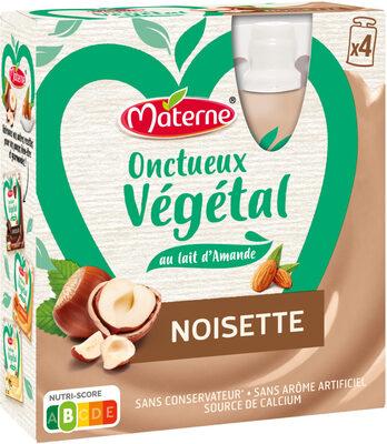 MATERNE Onctueux Végétal Noisette 4x85g - Produit - fr