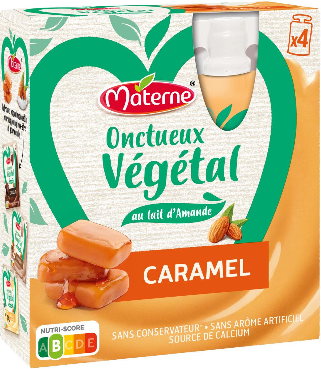 MATERNE Onctueux Végétal Caramel 4x85g - Produit - fr