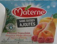 Compotes multi-fruits sans sucres ajoutés - Produit