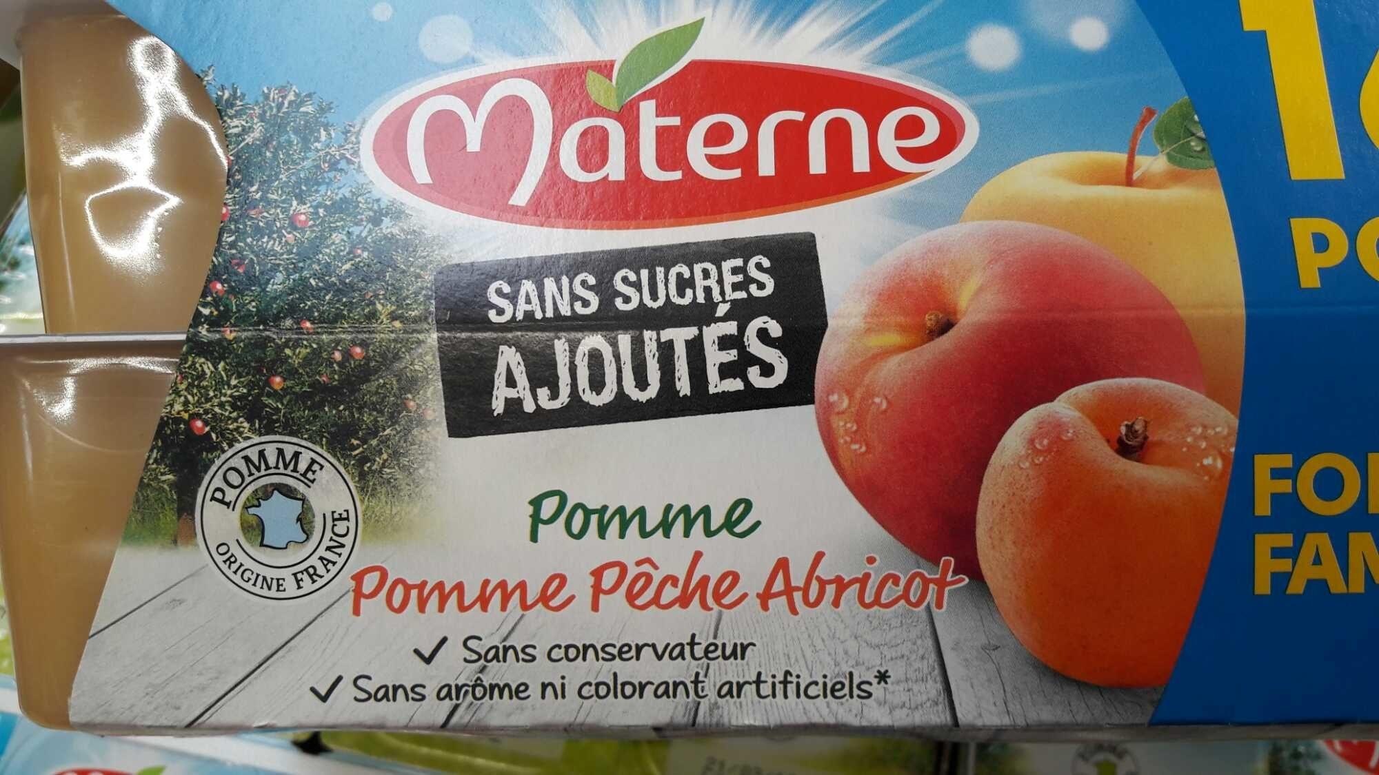 Compotes Pomme Pêche Abricot sans sucres ajoutés - Product - fr