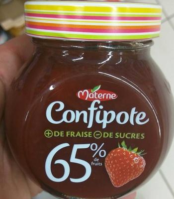 Confipote Fraise - Produit - fr