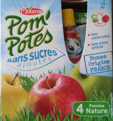 Pom'Potes - 4 Pomme Nature - Product