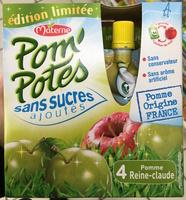 Pom'Potes Pomme Reine-Claude - Produit - fr