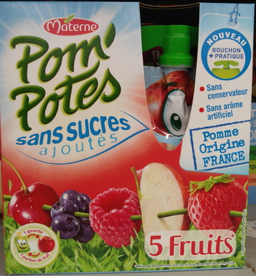 Pom' Potes 5 fruits - Product