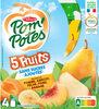 POM'POTES SSA 5 Fruits Jaunes (Pomme-Abricot-Pêche-Poire-Banane) - Produit