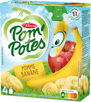 POM'POTES Pomme Banane 4x90g - Product - fr