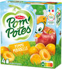POM'POTES Pomme Mirabelle 4x90g - Product