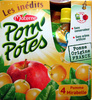 Pom\'Potes pomme mirabelle Materne - Product