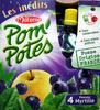 Pom'Potes pomme myrtille Materne -