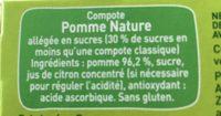 Pom'potes - Ingrédients - fr