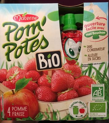 Pomme Fraise Bio - Produit - fr