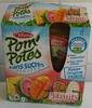 Pom'potes sans sucres ajoutés pomme tropical - Product