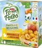 POM'POTES SSA Fruits de nos Régions Pomme Mirabelle de Lorraine - Product